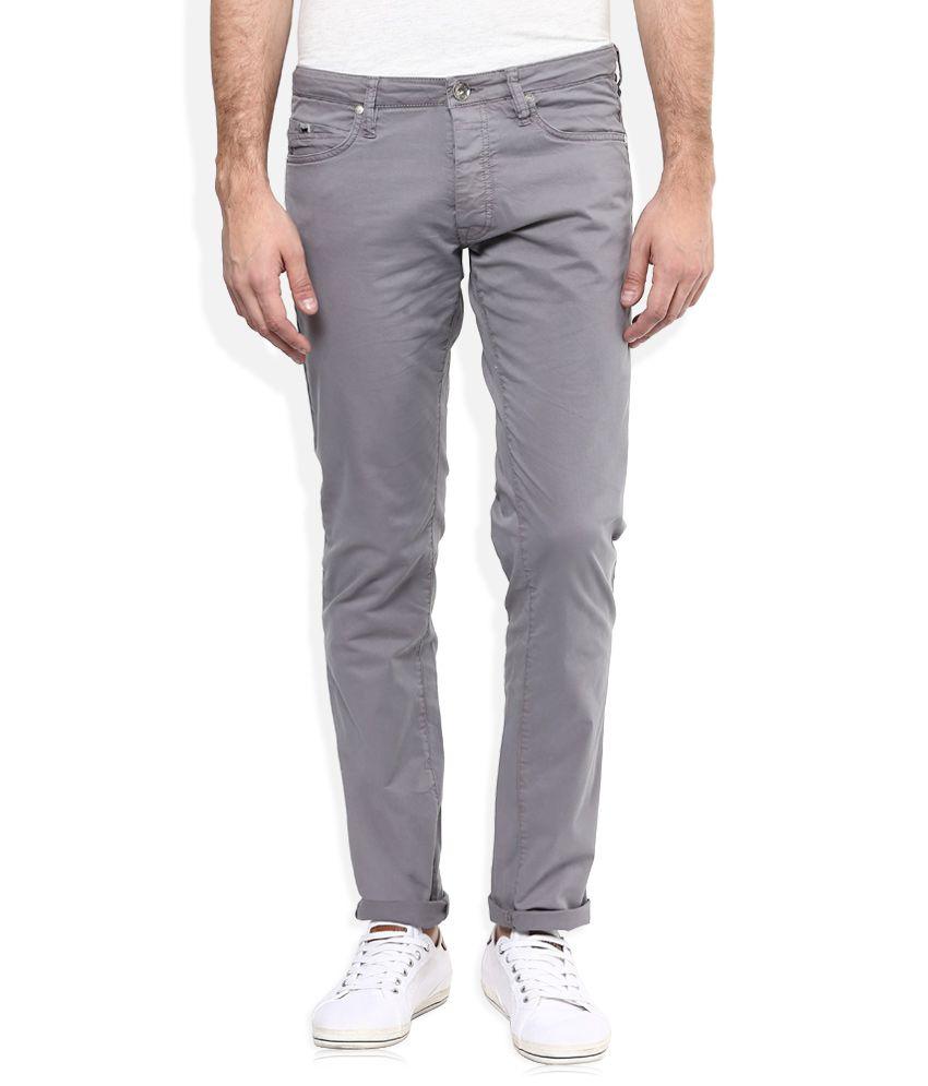 GAS Grey Regular Fit Jeans
