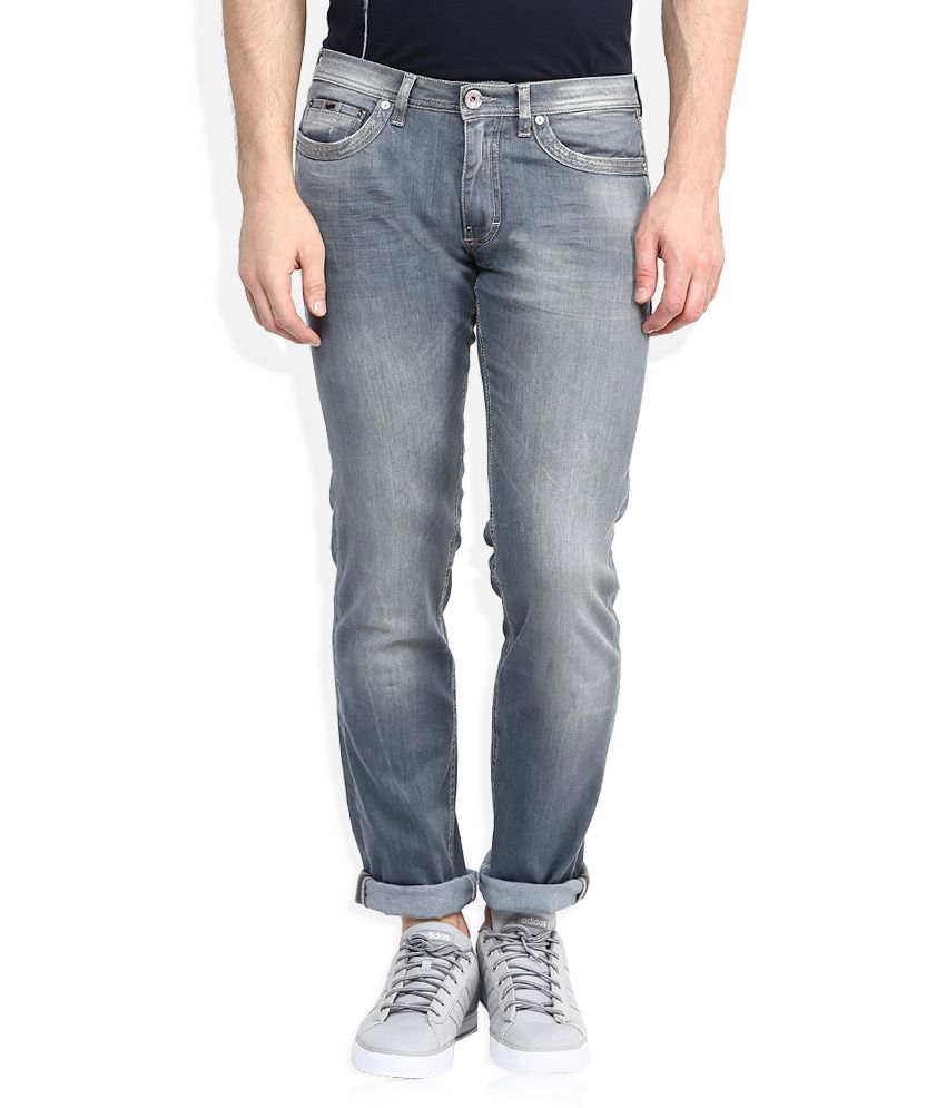 GAS Grey Slim Fit Jeans