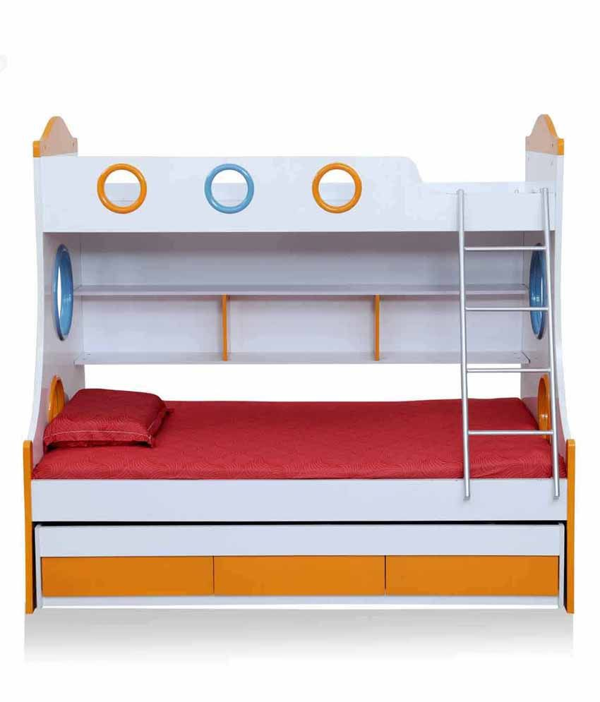 Royal Oak Remo Wood Bunk Bed Buy Royal Oak Remo Wood Bunk Bed