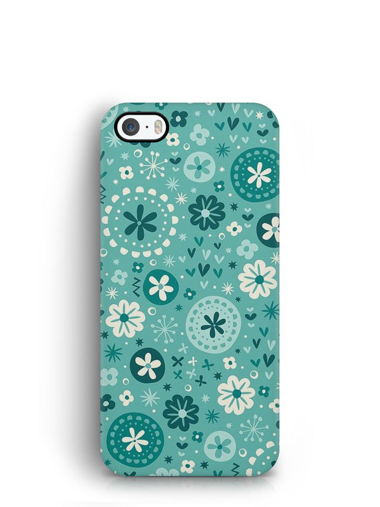 Cover Affair Flowers 3D Printed Back Cover Case for Apple iPhone 5C