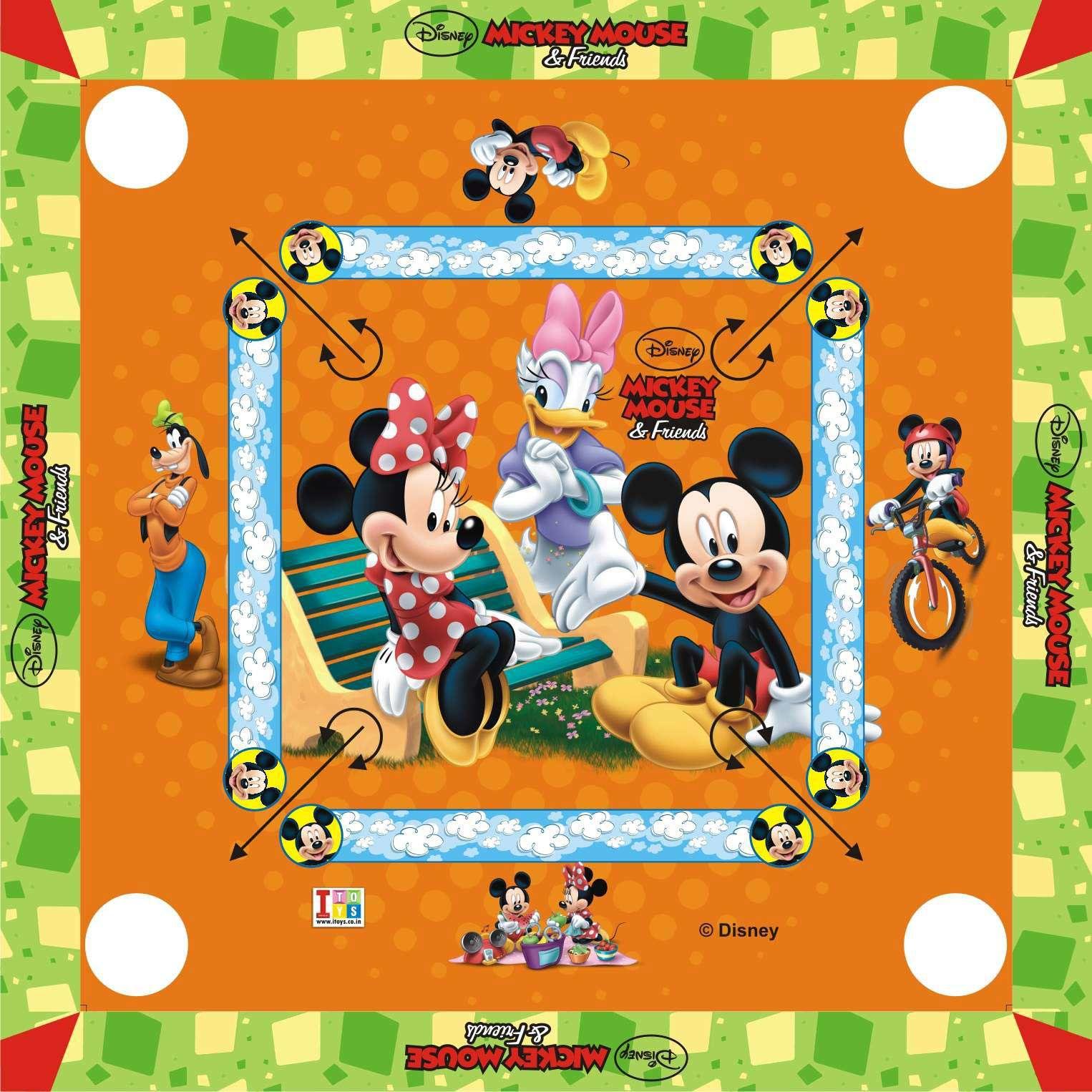Disney Multicolour Carrom Board