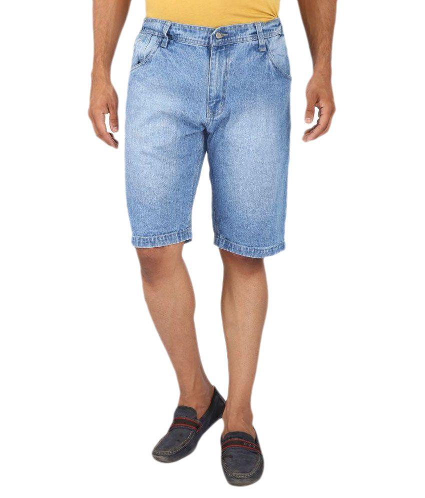 Magneto Blue Shorts