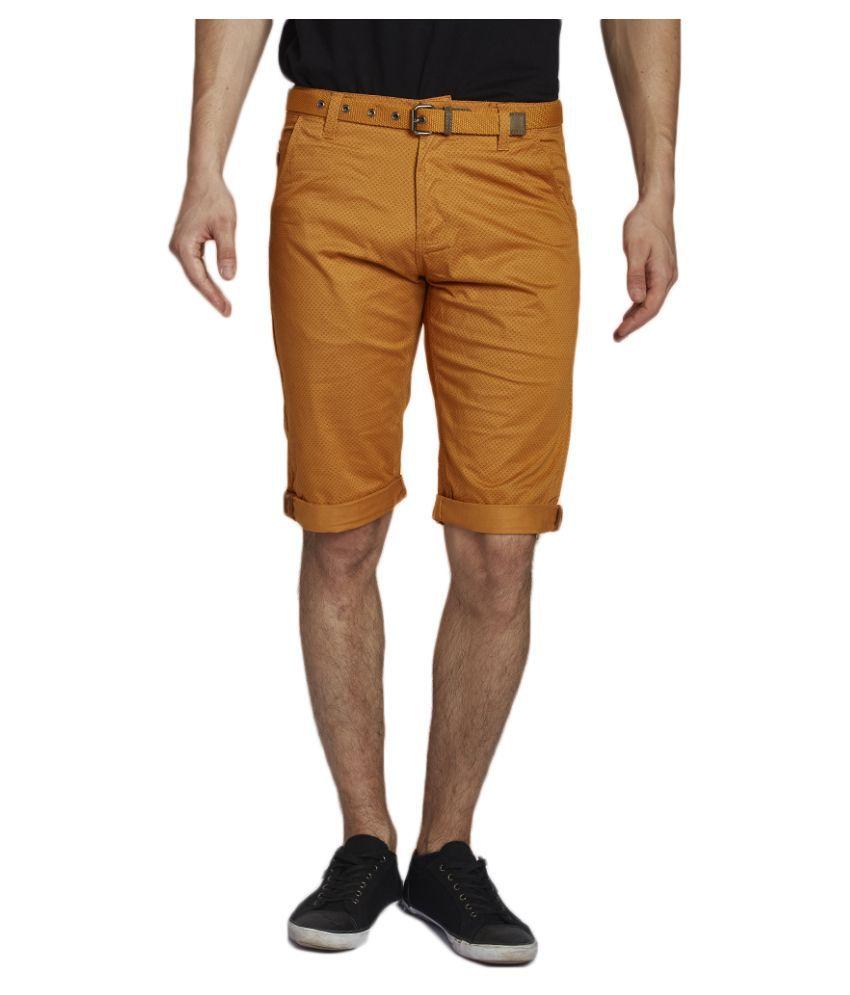 Beevee Orange Shorts