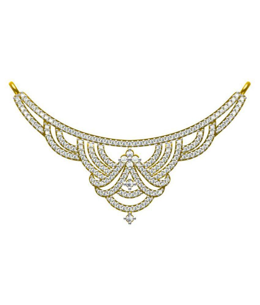 Sakshi Jewels BIS Hallmark 14kt Gold Mangalsutra