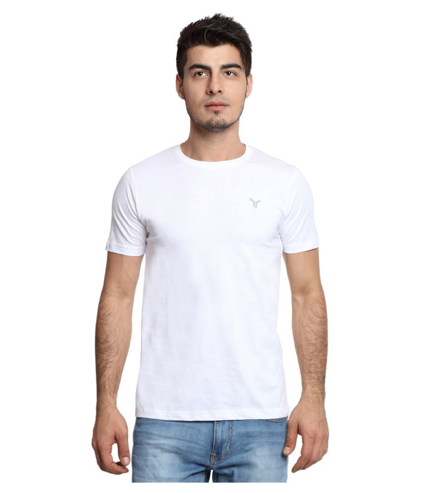 Youthen White Round T Shirt