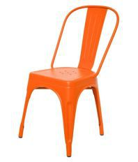 Dezaro Metal Iron Chair Orange