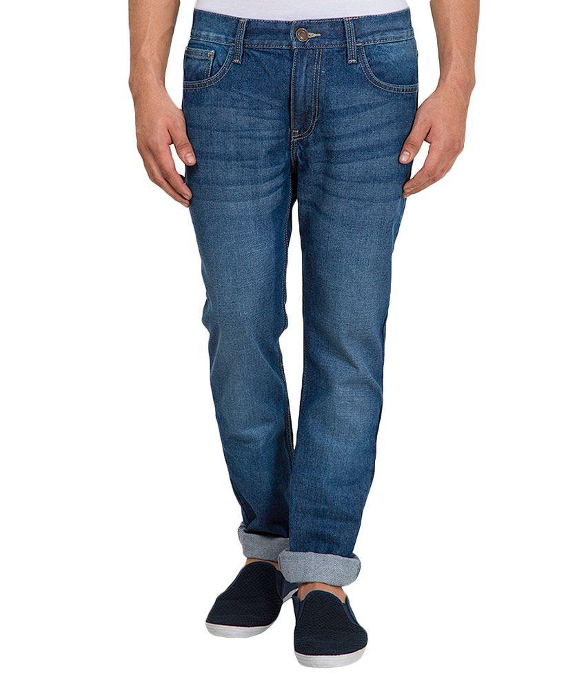 Highlander Blue Slim Fit Jeans