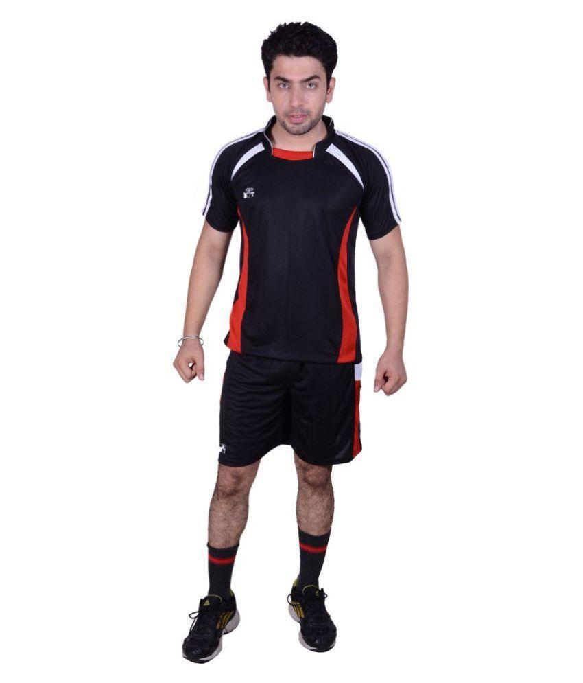 SST Black Polyester Football Dress