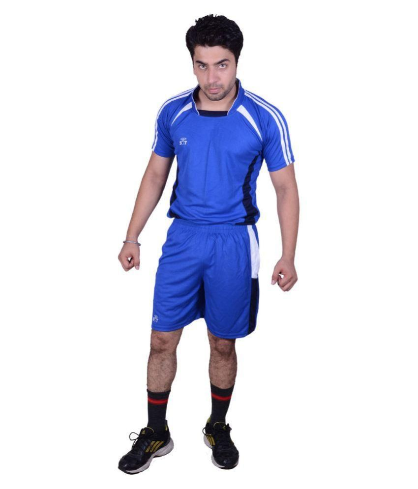 SST Blue Polyester Football Dress