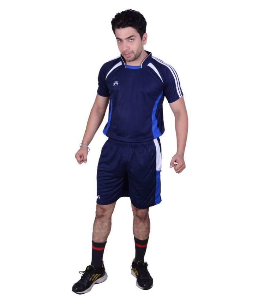 SST Navy Blue Polyester Football Dress