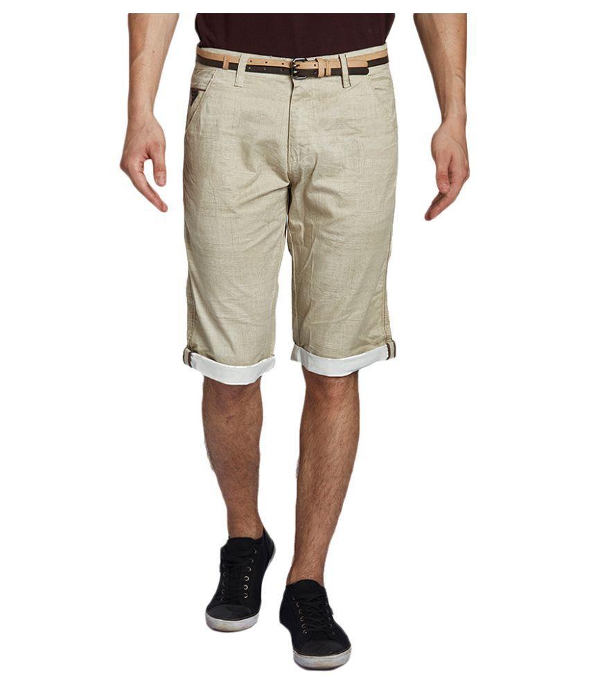 Beevee Beige Shorts