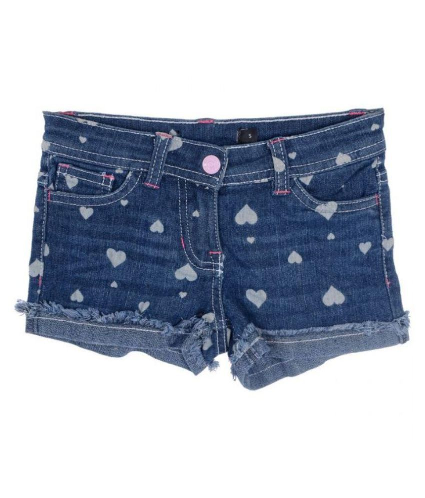 Joy n Fun Blue Denim Shorts