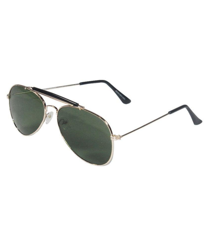 Blis Vogue Green Aviator Sunglasses ( SG0005 )