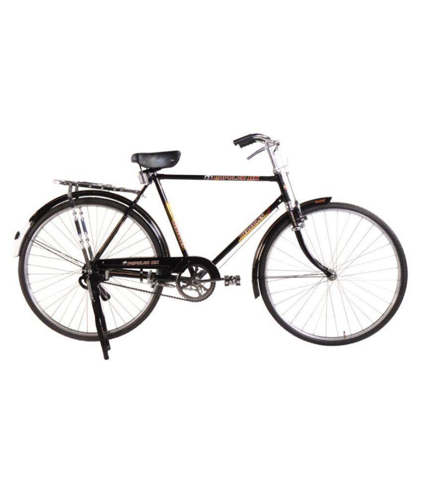 hercules black city bike bicycle buy online at best price. Black Bedroom Furniture Sets. Home Design Ideas