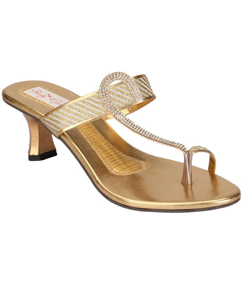 Party Girl Gold Heels