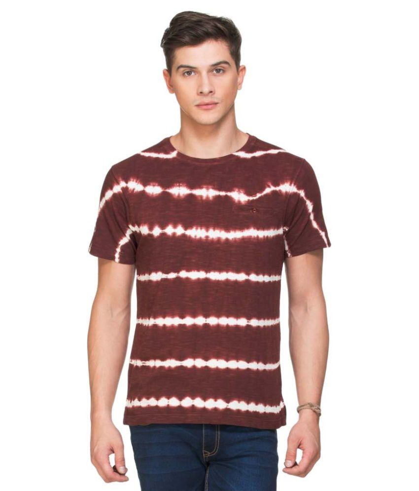 Zovi Brown Round T Shirt