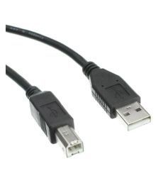 Storite USB 2.0 Printer Cable For HP, Canon, Epson, Kodak, Color Inkjet Printers (1.5M- 150cm)