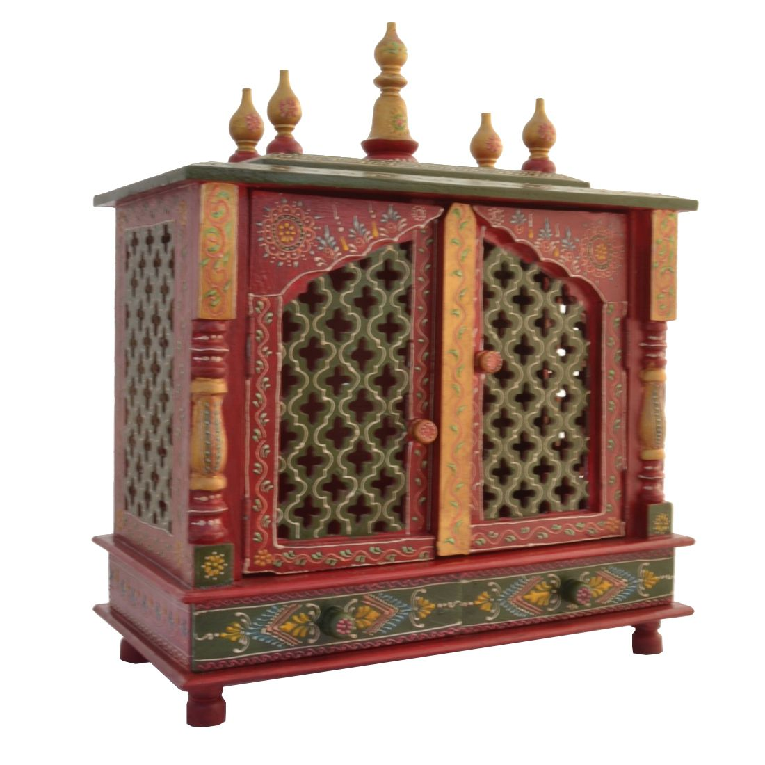Jodhpur Handicrafts Red Wood Hanging Mandir  Buy Jodhpur Handicrafts Red  Wood Hanging Mandir at Best Price in India on Snapdeal 4464bc1b8