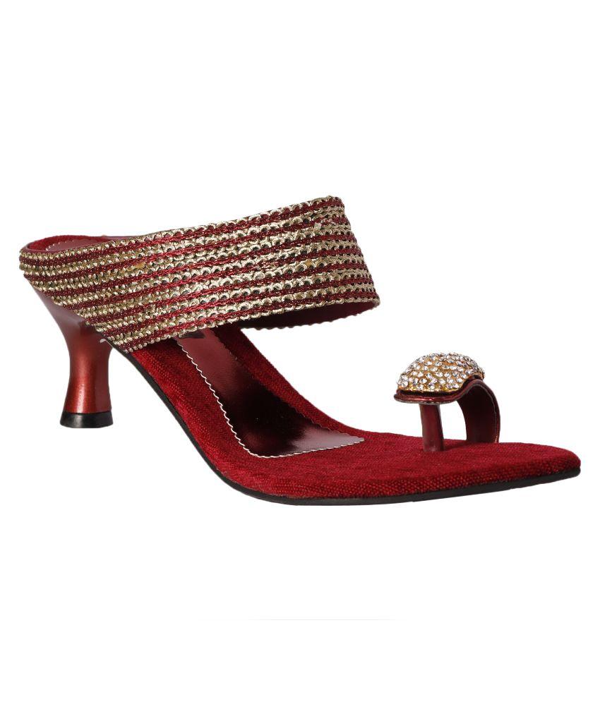 Pantof Gold Heels