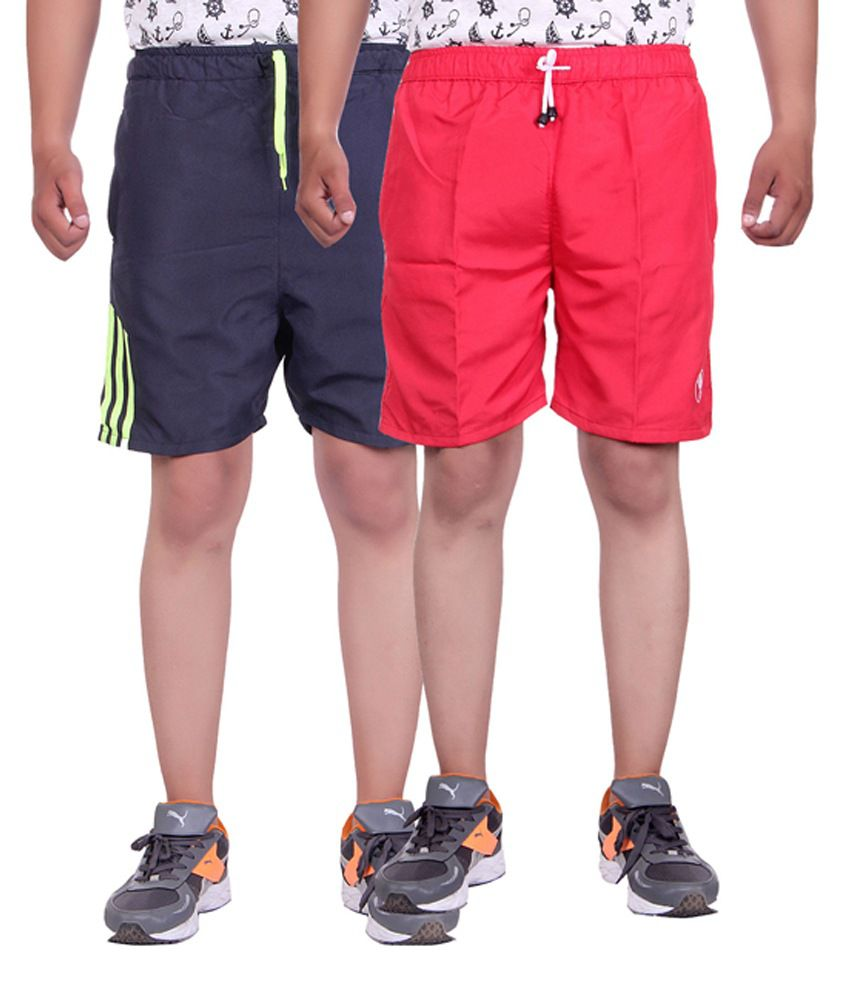 Belmarsh Multi Shorts Pack of 2