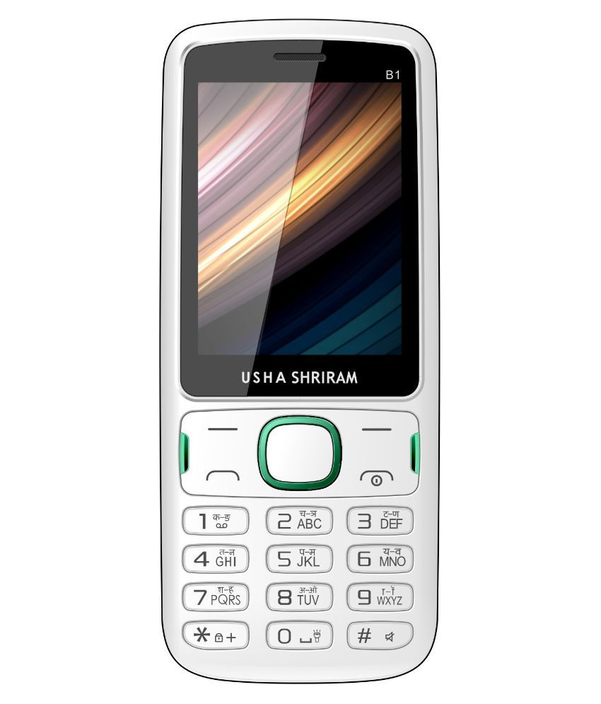 USHA SHRIRAM B1 32 MB White