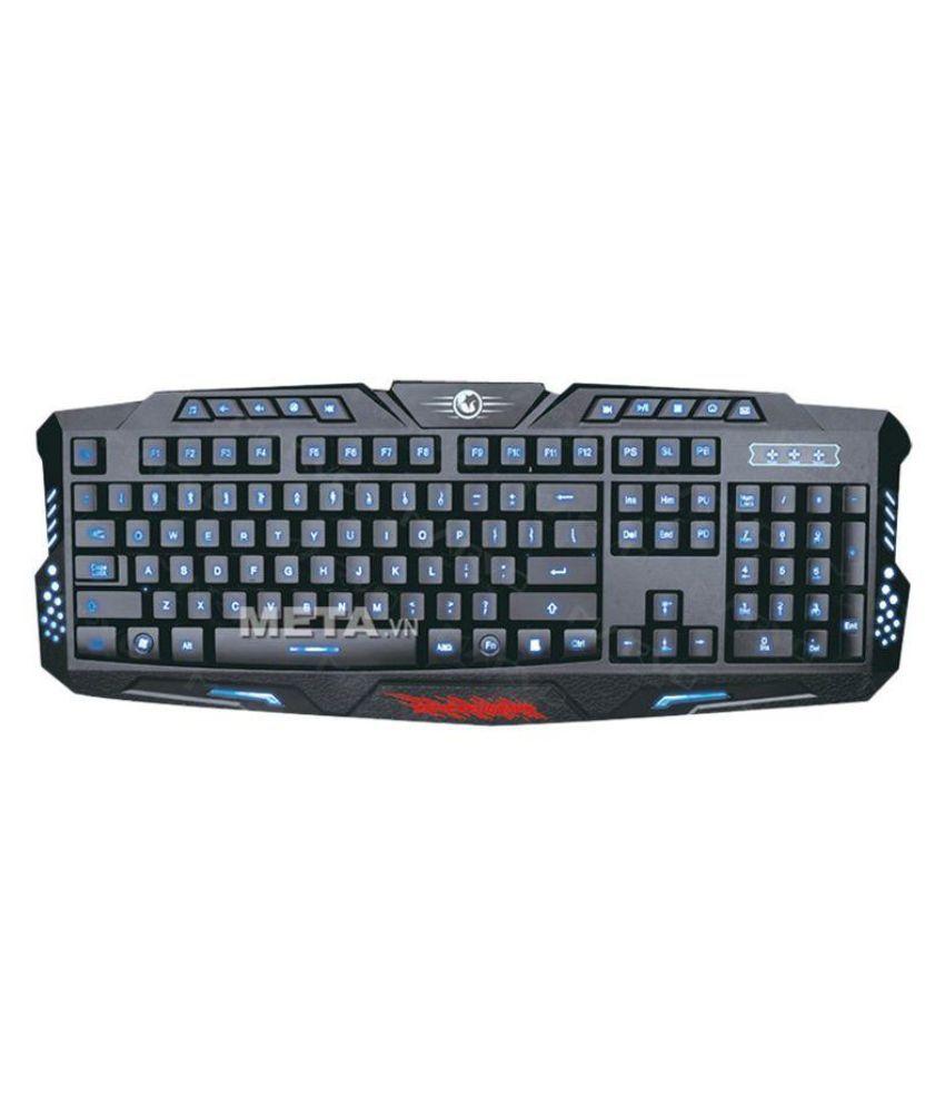 Marvo K636 Scropion Black Gaming Keyboard