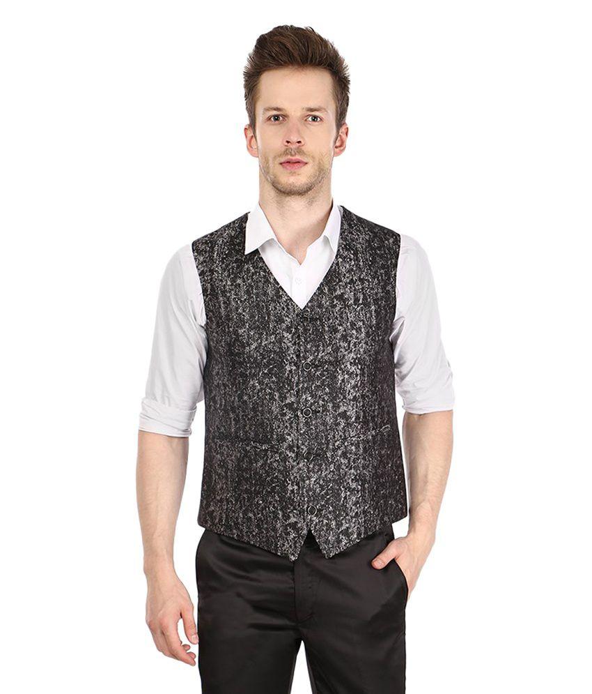 Platinum Studio Grey Party Waistcoats