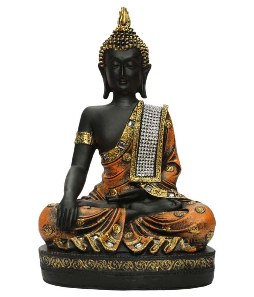 Heeran Art Buddha Polyresin Idol