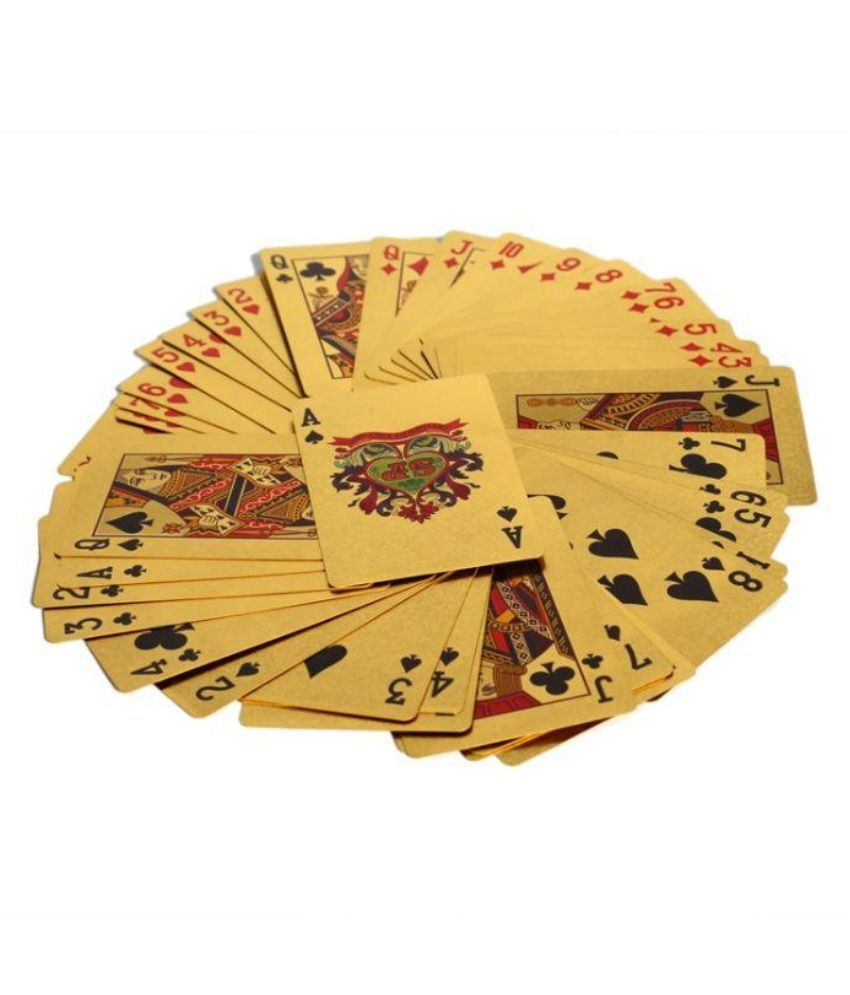 Bgroovy Gold Plated Playing Cards