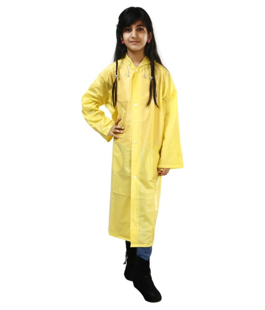 Inside Fashion Yellow Rainwear