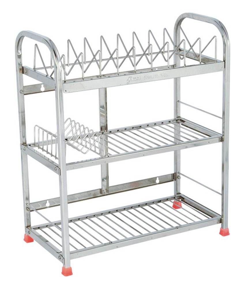 buy amol stainless steel utensils rack online at low price in