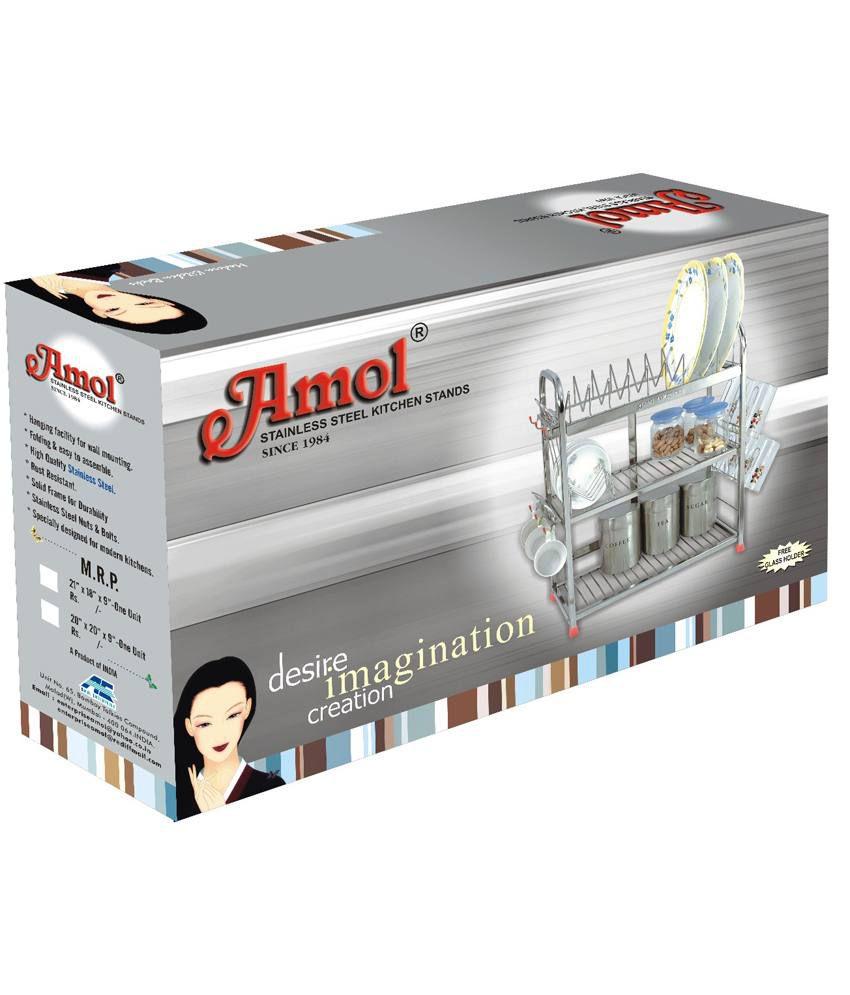 Buy Amol Stainless Steel Utensils Rack Online At Low Price