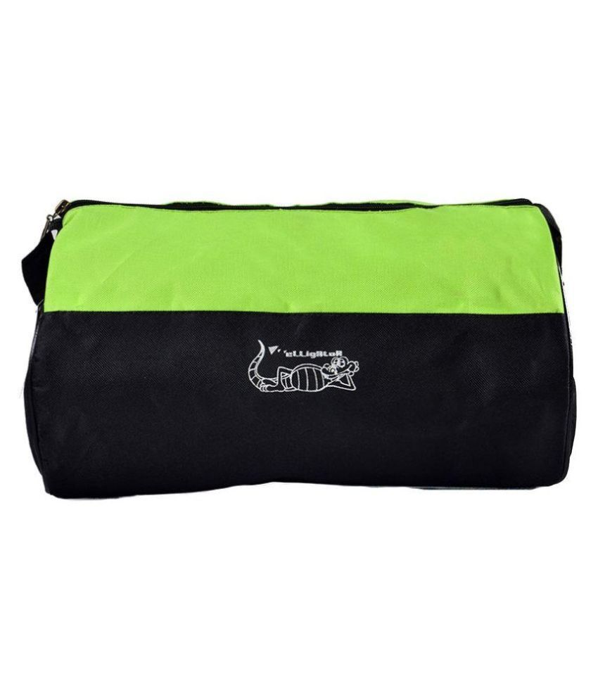 Elligator Green Gym Bag