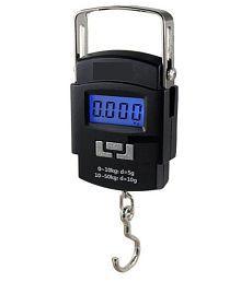 Raja Black Plastic Digital Weighing Scale