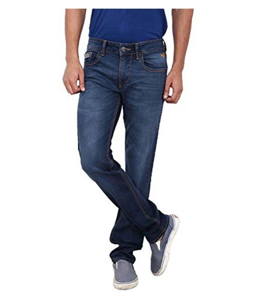 Flying Machine Blue Skinny Fit Jogger Jeans