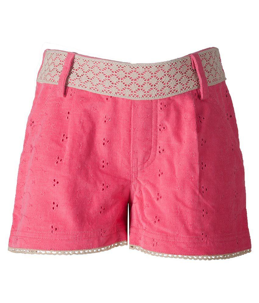 Naughty Ninos Pink Shorts