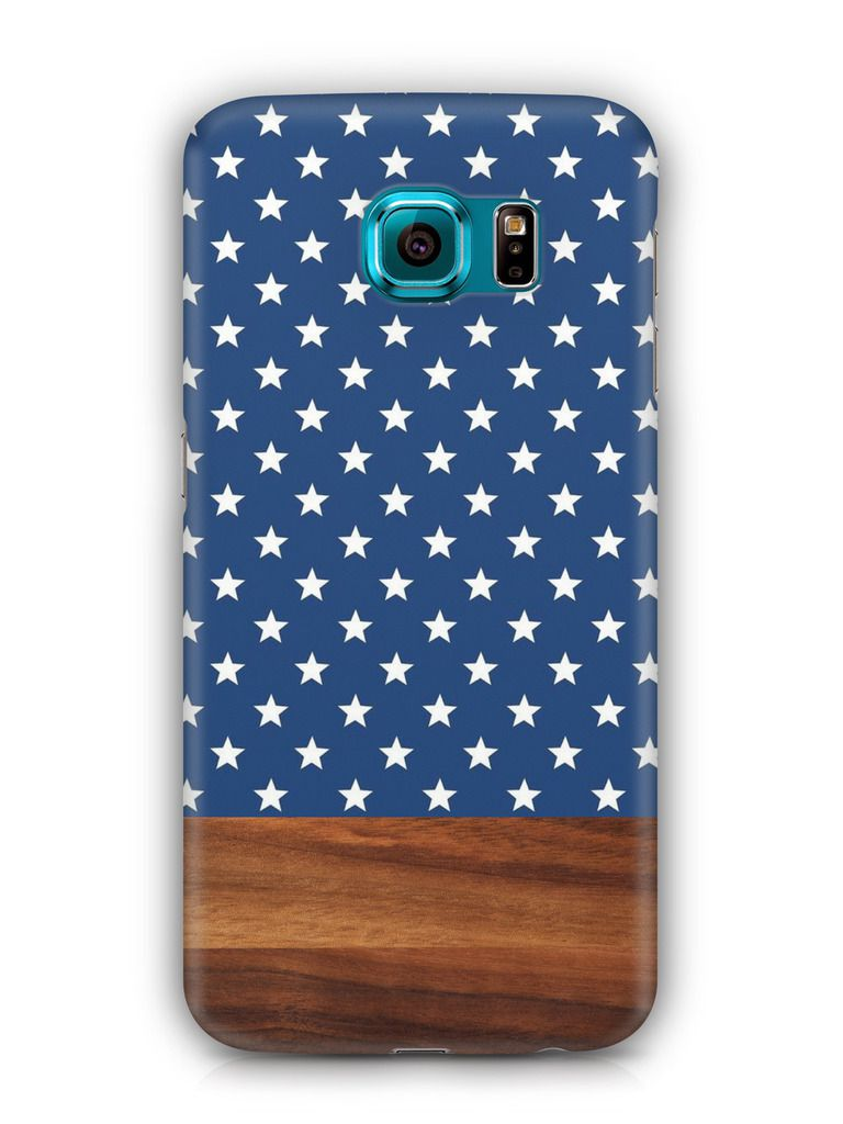 Cover Affair Wood / Aztec 3D Printed Back Cover Case for Samsung Galaxy S6