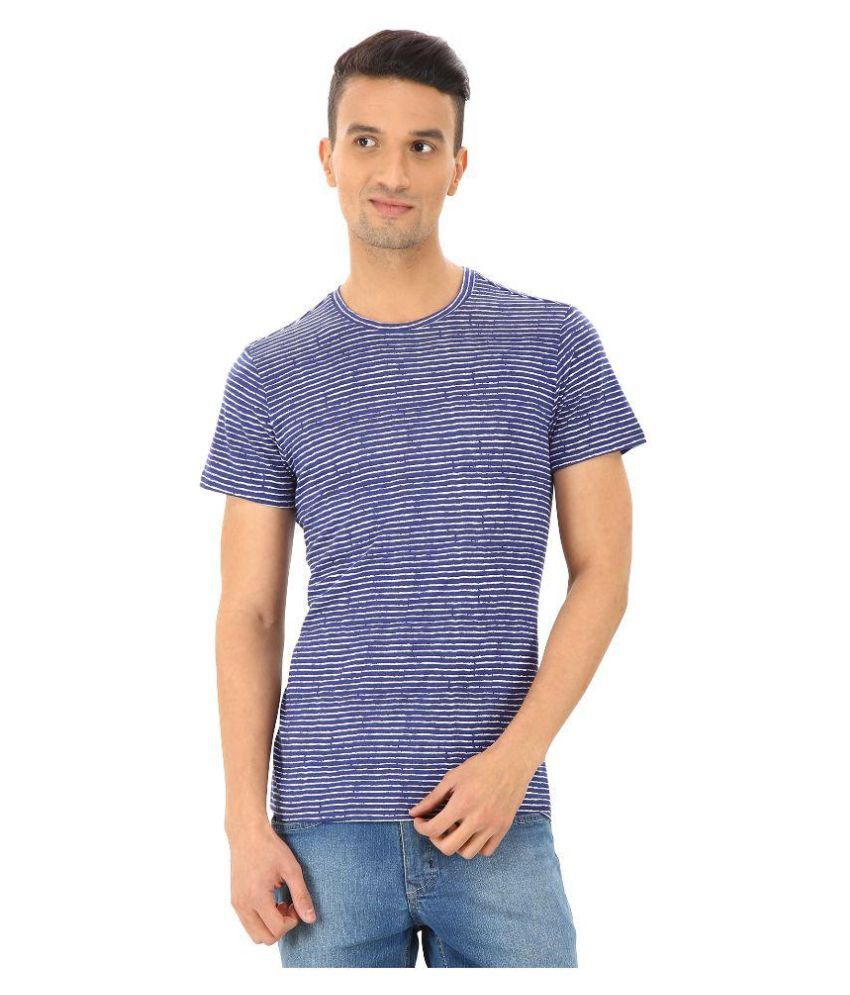 Pollford Blue Round T Shirt