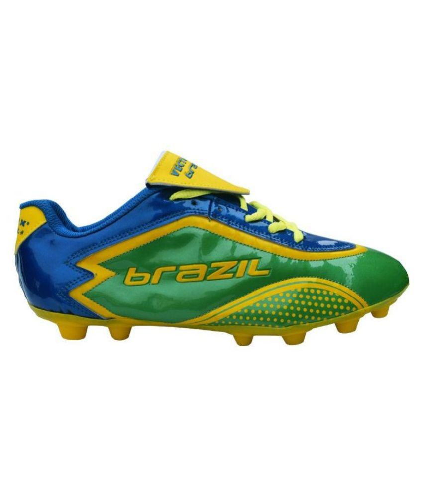 7ac7457b0 Vector X Brazil II Green Football Shoes - Buy Vector X Brazil II ...