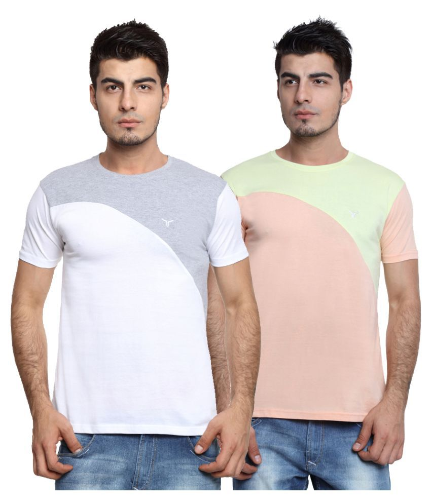 Youthen Multi Round T Shirt
