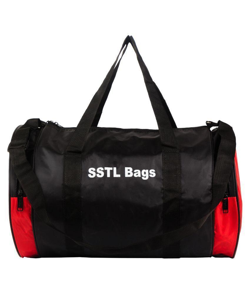 SSTL Gym Bags BLACK Gym Bag