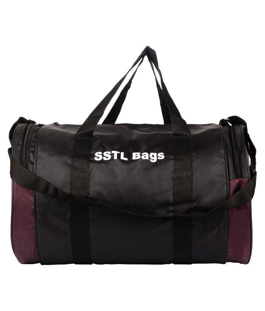 SSTL Purple Gym Bag