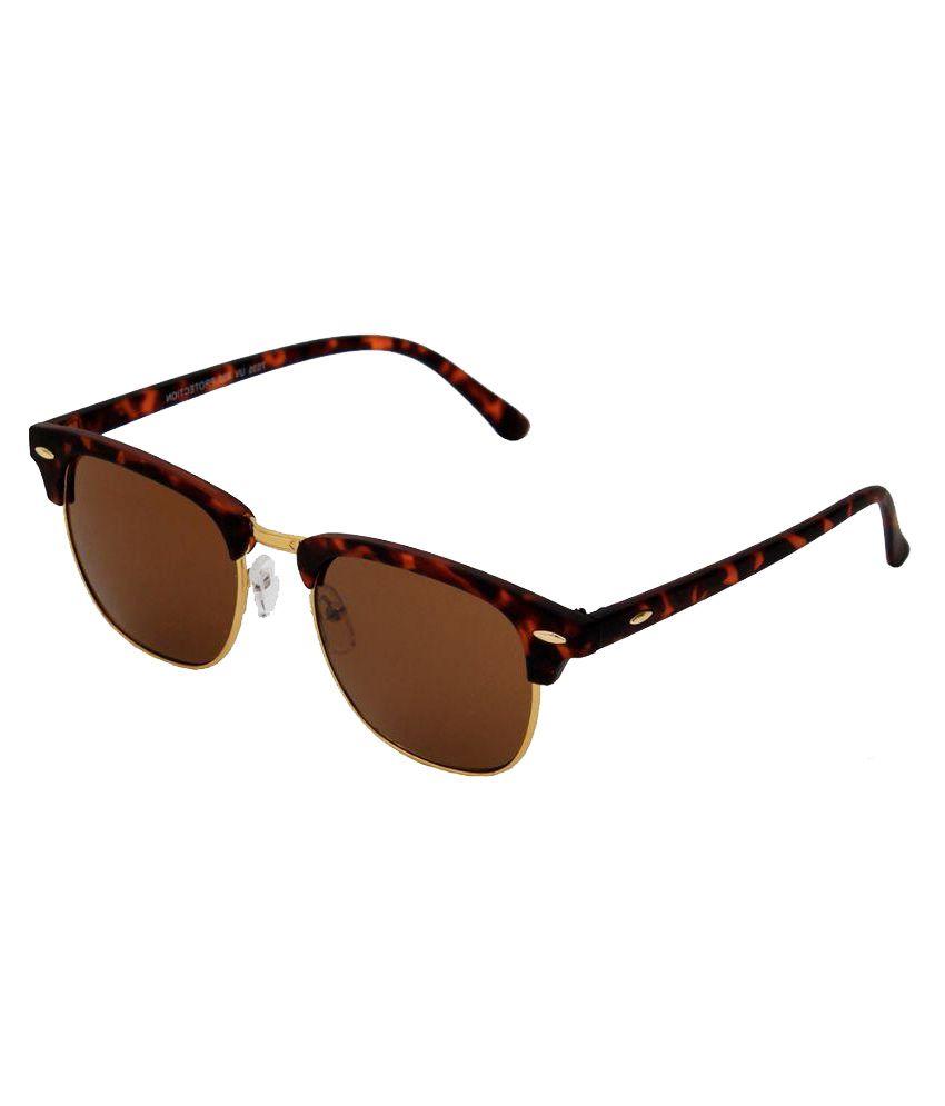 6by6 Brown Wayfarer Sunglasses ( SG1248 )