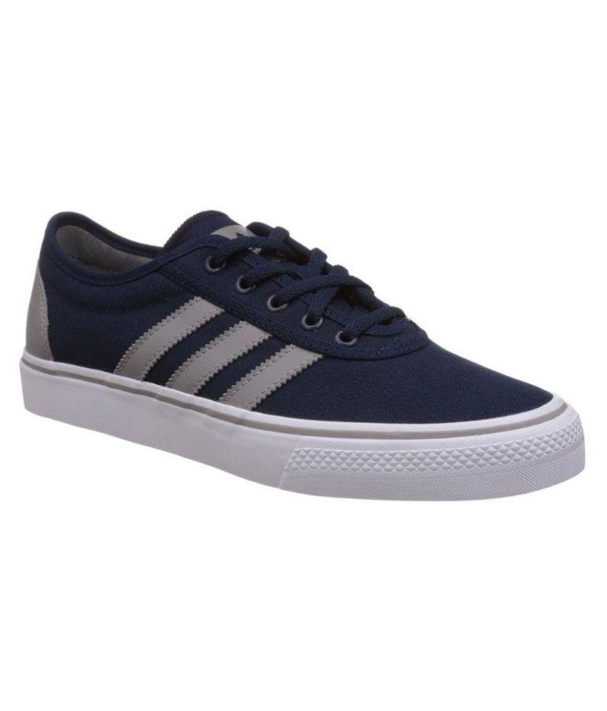Adidas Blue Canvas Shoes Buy Adidas Blue Canvas Shoes
