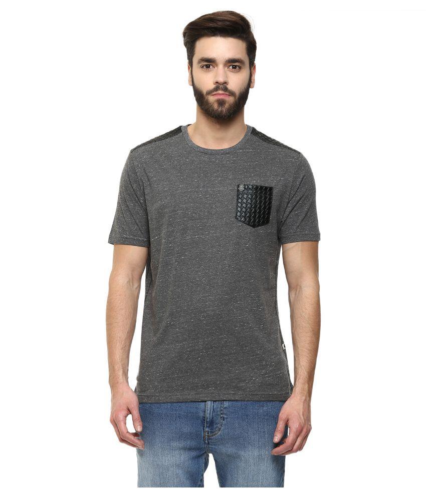 Fritzberg Grey Round T Shirt