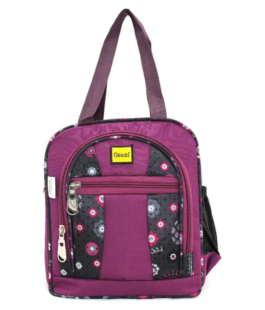 Oswal Purple Lunch Bags