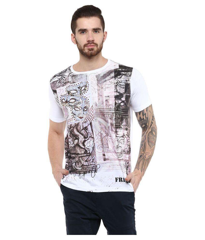 Fritzberg White Round T Shirt