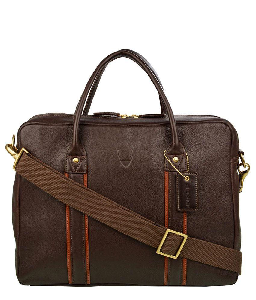 626390f306 Hidesign sdl678423561100 Corvette 01 Brown Leather Duffle Bag ...