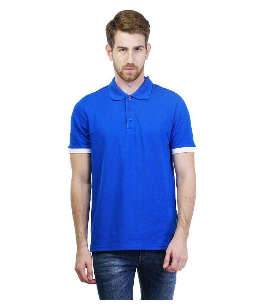 Puma Blue Polo T Shirts