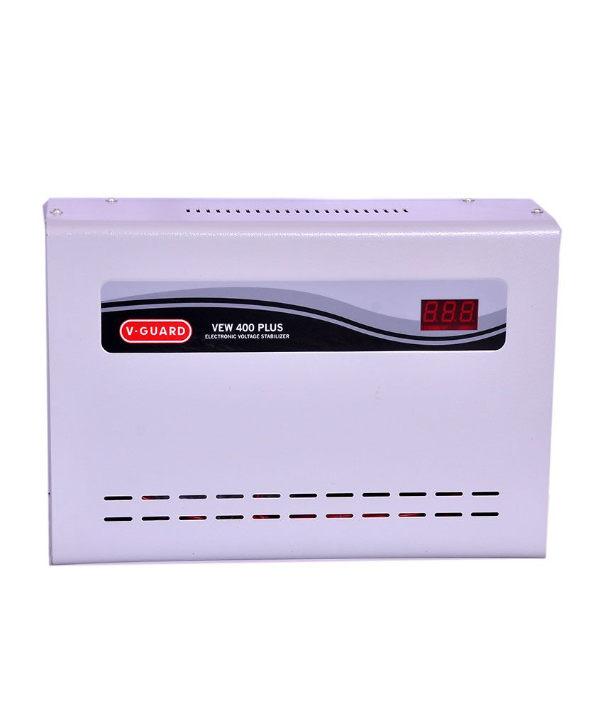 V-Guard VEW400 Air Conditioner Voltage Satbilizer